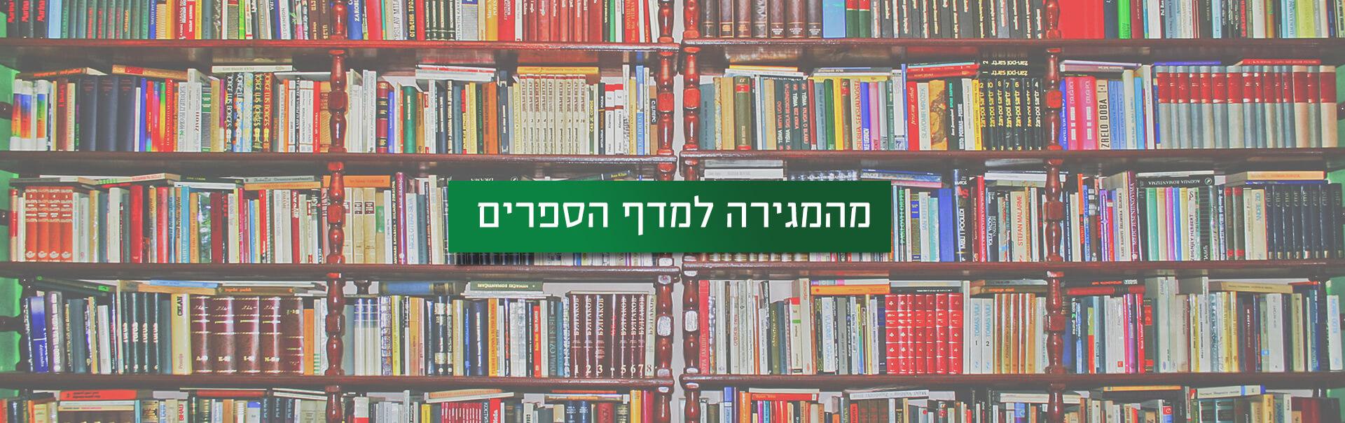 כתיבת ספר: מהמגרה למדף הספרים